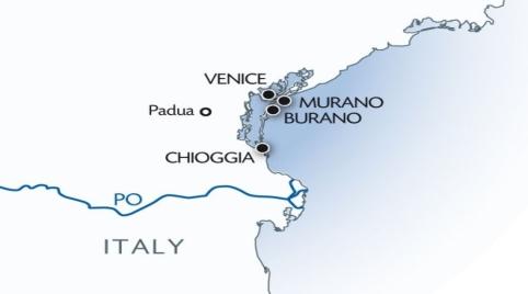 Venice & Lagoon Christmas Cruise Itinerary
