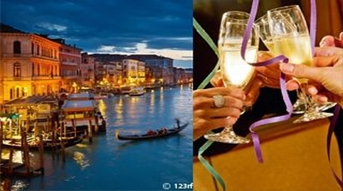 Venice & lagoon New Year Cruise itinerary
